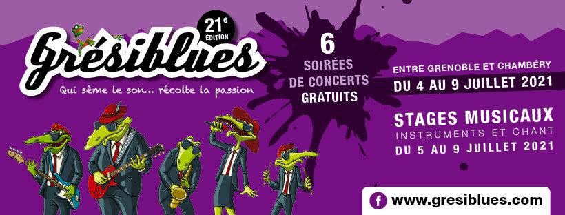 GRÉSIBLUES, concerts et stages